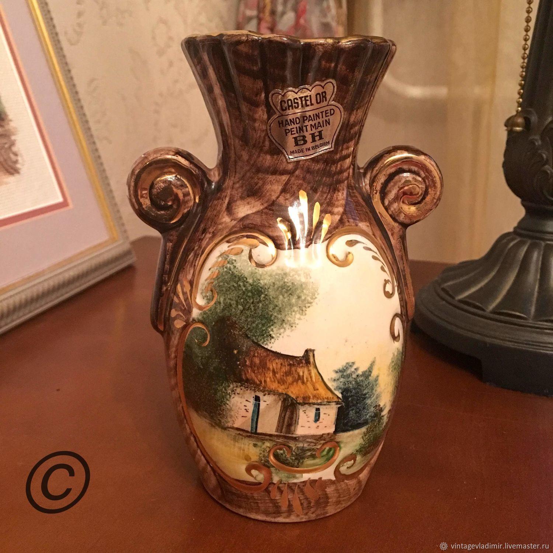 Винтаж: Бельгийская ваза H. Biquet, Кухонная утварь винтажная, Москва,  Фото №1