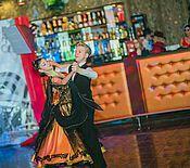 Одежда ручной работы. Ярмарка Мастеров - ручная работа Платье для бальных танцев.  Стразы.  Стандарт.. Handmade.