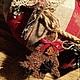 """Новый год 2017 ручной работы. Заказать Интерьерная подушка """"Рождественские олени"""". Дизайн-мастерская EcoShiningHome (eco2014). Ярмарка Мастеров."""