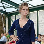 """Одежда ручной работы. Ярмарка Мастеров - ручная работа Платье """"Royal Blue"""". Handmade."""