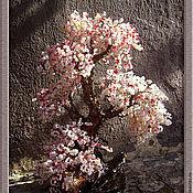 """Цветы и флористика ручной работы. Ярмарка Мастеров - ручная работа Дерево """"Весна"""". Handmade."""