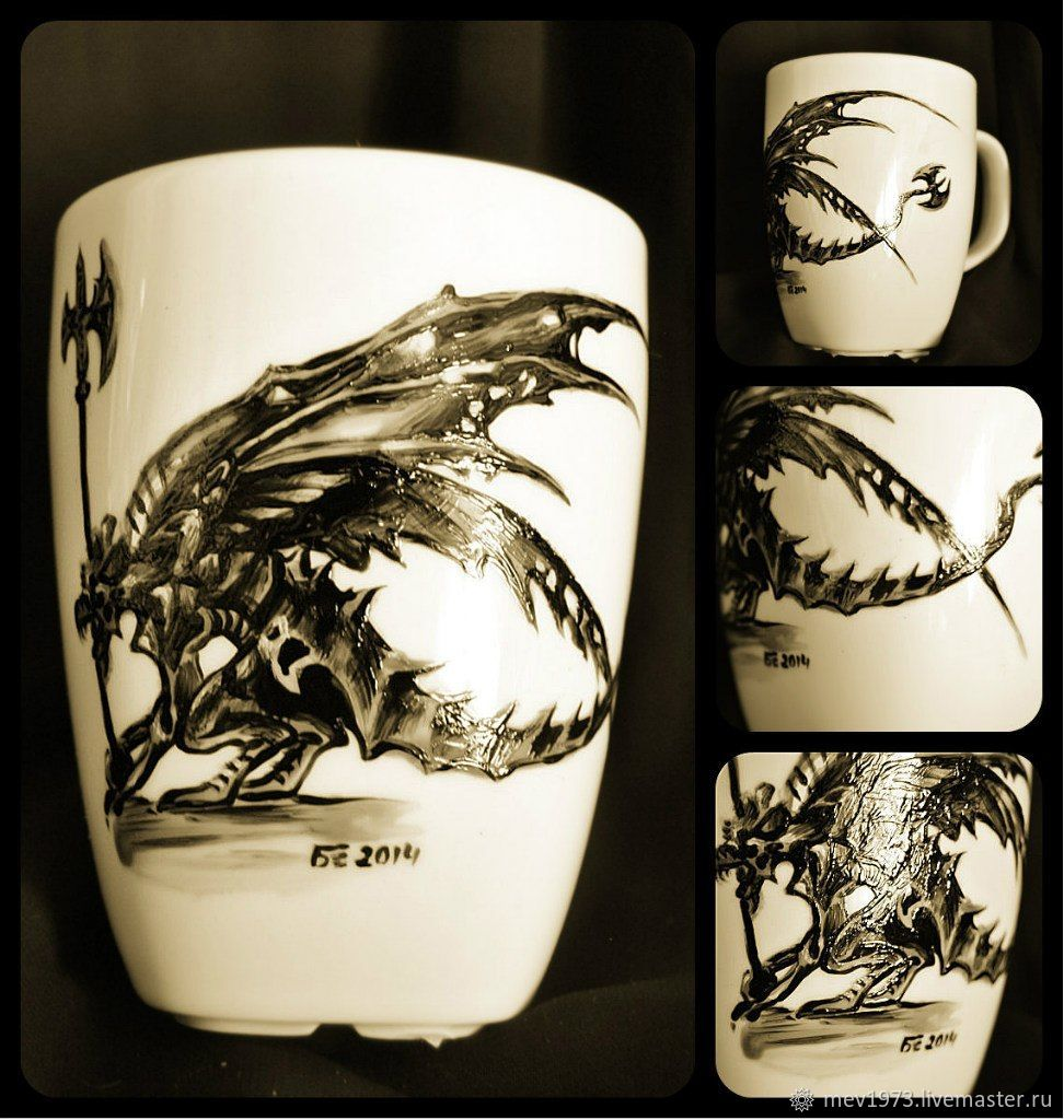 Кружки: Гаргулья, Кружки и чашки, Санкт-Петербург,  Фото №1