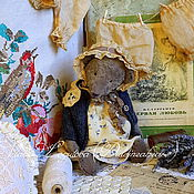 Куклы и игрушки ручной работы. Ярмарка Мастеров - ручная работа Мишенька Дуняша. Handmade.