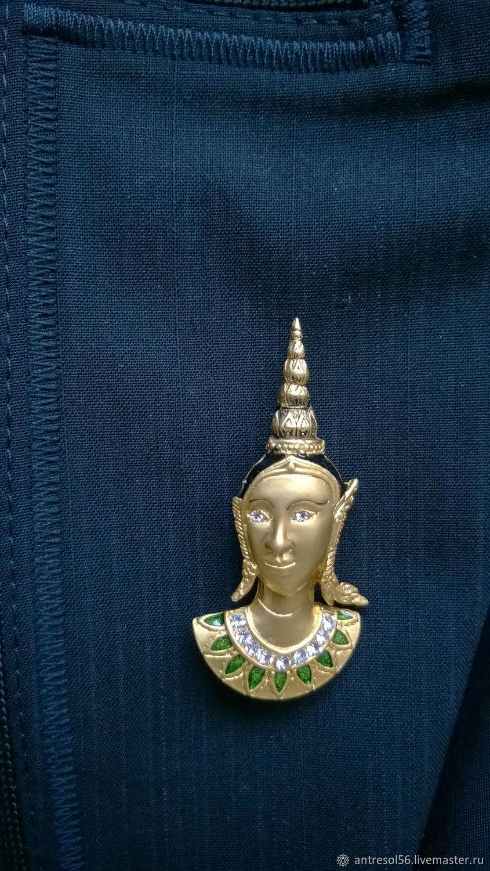 Brooch 'the Elven Princess', Vintage brooches, Orenburg,  Фото №1