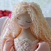 """Куклы и игрушки ручной работы. Ярмарка Мастеров - ручная работа Ангел """"Мамины руки"""". Handmade."""