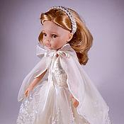 """Одежда для кукол ручной работы. Ярмарка Мастеров - ручная работа Одежда для кукол: Новогодний костюм """"Леди Зима"""". Handmade."""