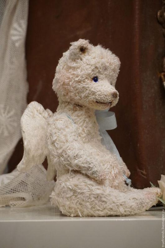 Мишки Тедди ручной работы. Ярмарка Мастеров - ручная работа. Купить Angel. Handmade. Белый, опилки древесные