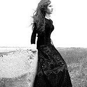 Одежда ручной работы. Ярмарка Мастеров - ручная работа платье в ирландском стиле. Handmade.