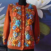 """Одежда ручной работы. Ярмарка Мастеров - ручная работа Жакет """"Версаль""""ручная вышивка.ручная работа. Handmade."""