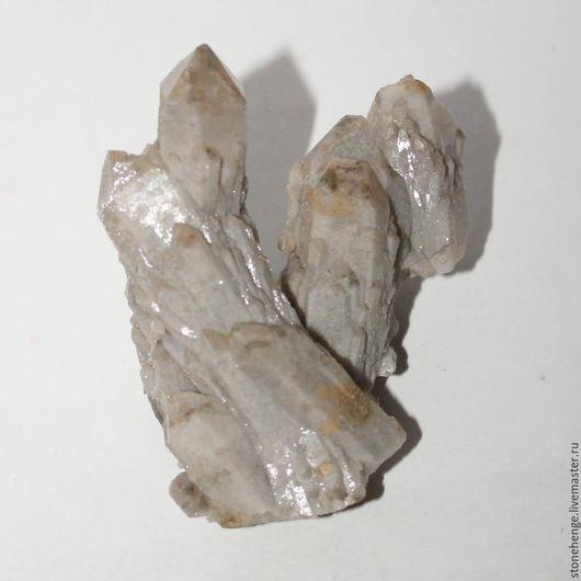 Для украшений ручной работы. Ярмарка Мастеров - ручная работа. Купить Сросток кристаллов кварца, коллекционный образец. Handmade. Комбинированный