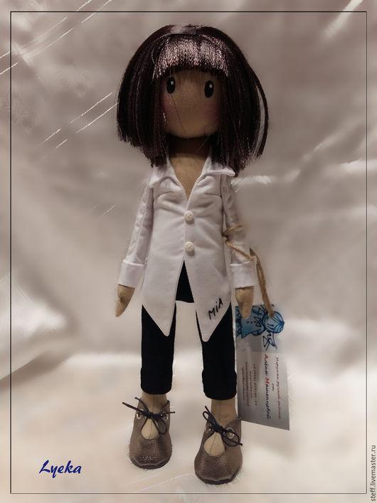Портретные куклы ручной работы. Ярмарка Мастеров - ручная работа. Купить Mia Ума Турман. Handmade. Белый, портретная кукла