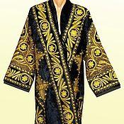 Одежда ручной работы. Ярмарка Мастеров - ручная работа Узбекский золошвейный национальный халат, чапан A7485. Handmade.