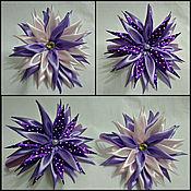 Работы для детей, ручной работы. Ярмарка Мастеров - ручная работа Ободки с цветком канзаши. Handmade.