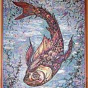 """Картины и панно ручной работы. Ярмарка Мастеров - ручная работа """"Рыбина"""". Handmade."""