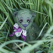 Куклы и игрушки ручной работы. Ярмарка Мастеров - ручная работа Мишка-тедди Соник-18,5см. Handmade.