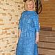 """Платья ручной работы. Платье """" Cornflower"""". Korotkova   Natalya. Интернет-магазин Ярмарка Мастеров. Однотонный, одежда"""