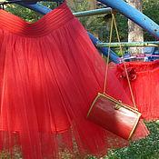 Одежда ручной работы. Ярмарка Мастеров - ручная работа Юбка женская из фатина. Handmade.