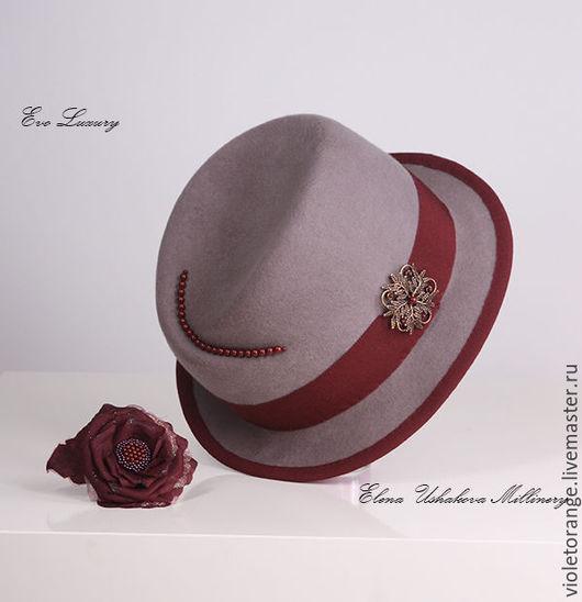 Шляпа Аурика от шляпного дизайнера Елены Ушаковой. Бренд Evo Luxury - это ручная работа высшего качества. Женские шляпки Evo Luxury отличает интеллигентность, индивидуальность, утонченность и стиль.