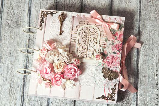 """Фотоальбомы ручной работы. Ярмарка Мастеров - ручная работа. Купить Фотоальбом """"Мечты"""" (подарок девушке, свадебный). Handmade. Фотоальбом"""
