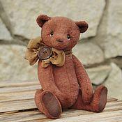 Игрушки ручной работы. Ярмарка Мастеров - ручная работа Тедди мишка Брендон. Handmade.