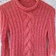 Кофты и свитера ручной работы. Заказать Вязаный свитер из мохера Коралловое настроение. Ирина (fatum). Ярмарка Мастеров.