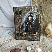 Для дома и интерьера handmade. Livemaster - original item The Boxes Captain Flint. Handmade.