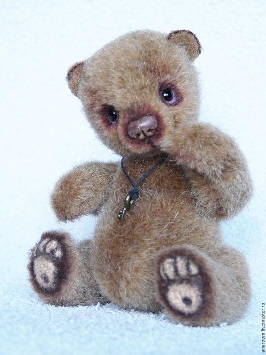 Мишки Тедди ручной работы. Ярмарка Мастеров - ручная работа. Купить медвежонок (10 см). Handmade. Светло-коричневый