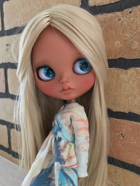 Развивающие игрушки ручной работы. Ярмарка Мастеров - ручная работа. Купить Кукла Блайз кастом ( шарнирное тело ). Handmade.
