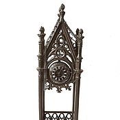 Винтаж handmade. Livemaster - original item Antique Vintage 1895год Podcast Kiosk Gothic Clock Cast iron Kasli. Handmade.