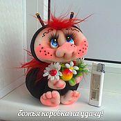 Сувениры и подарки handmade. Livemaster - original item Ladybug. Handmade.