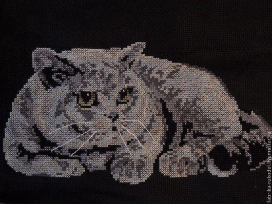Животные ручной работы. Ярмарка Мастеров - ручная работа. Купить кошка. Handmade. Картина для интерьера, картина кот