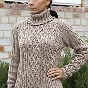 Одежда ручной работы. Ярмарка Мастеров - ручная работа Свитер из шерсти монгольского верблюда. Handmade.