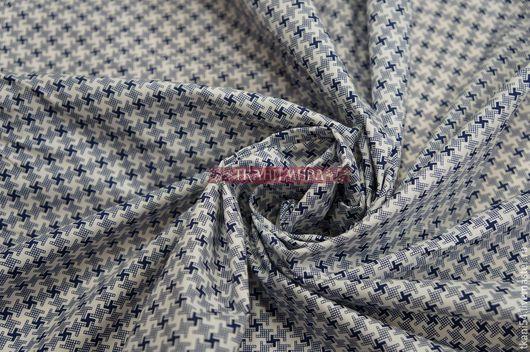 Шитье ручной работы. Ярмарка Мастеров - ручная работа. Купить Ткань сорочечная RW-16, 150 см, синий. Handmade.