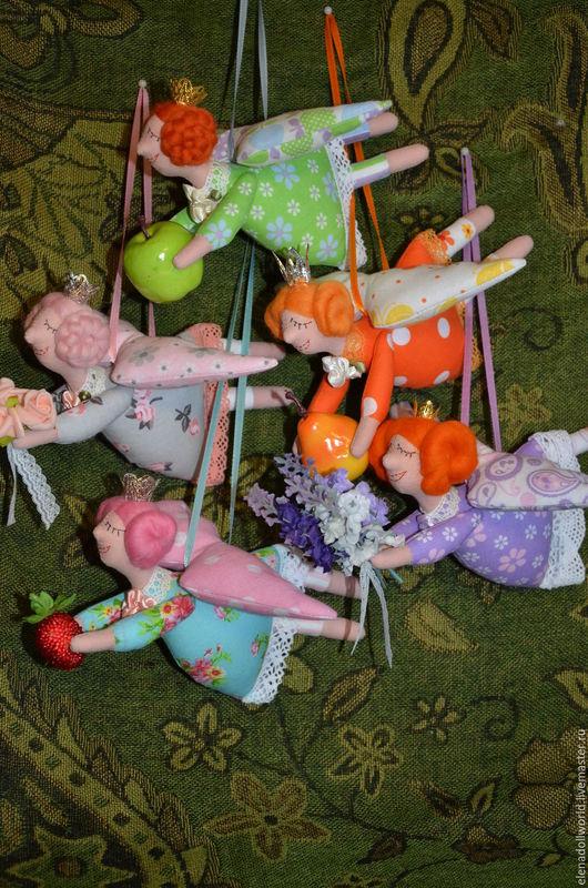 Сказочные персонажи ручной работы. Ярмарка Мастеров - ручная работа. Купить Фея домашнего уюта. Handmade. Кукла текстильная