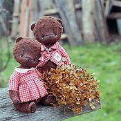 Куклы и игрушки ручной работы. Ярмарка Мастеров - ручная работа Любушка и Павлик. Handmade.
