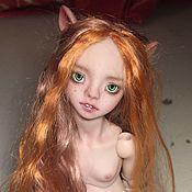 Куклы и игрушки ручной работы. Ярмарка Мастеров - ручная работа Рыжая мышка. Handmade.