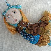 """Куклы и игрушки ручной работы. Ярмарка Мастеров - ручная работа Игрушка интерьерная """"Птица-девица"""". Handmade."""