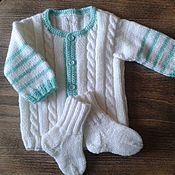 Одежда ручной работы. Ярмарка Мастеров - ручная работа Первый наряд на зиму. Handmade.