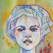 Картины и панно ручной работы. Ярмарка Мастеров - ручная работа Африка в акварели. Handmade.