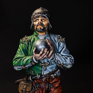 Артиллерист, Англия вторая пол. 15 века