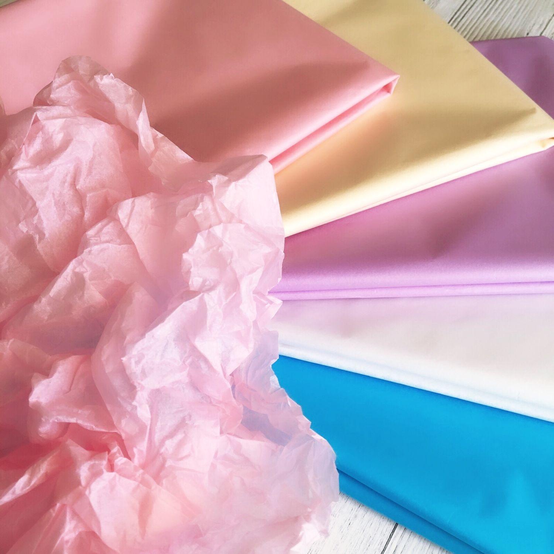 Бумага тишью 17 цветов (папирусная бумага) упаковка, 10 листов 51х66см, Бумага, Нижний Новгород, Фото №1