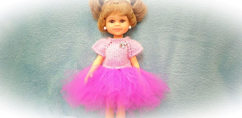 Кофточка и юбочка из фатина для кукол, Одежда для кукол, Рязань,  Фото №1