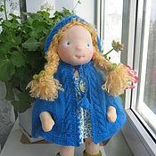 """Куклы и игрушки ручной работы. Ярмарка Мастеров - ручная работа Вальдорфская кукла """"Мила"""" 38см.. Handmade."""