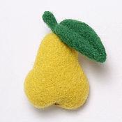 Украшения ручной работы. Ярмарка Мастеров - ручная работа Груша и яблоко. Handmade.