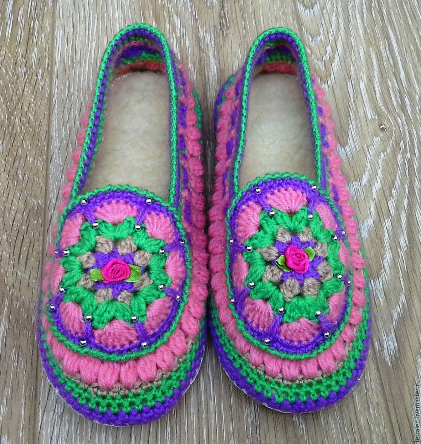 c9adff79fa6ede Handmade Shoes handmade. Livemaster - handmade. Buy Slippers knitted Summer leather  sole.
