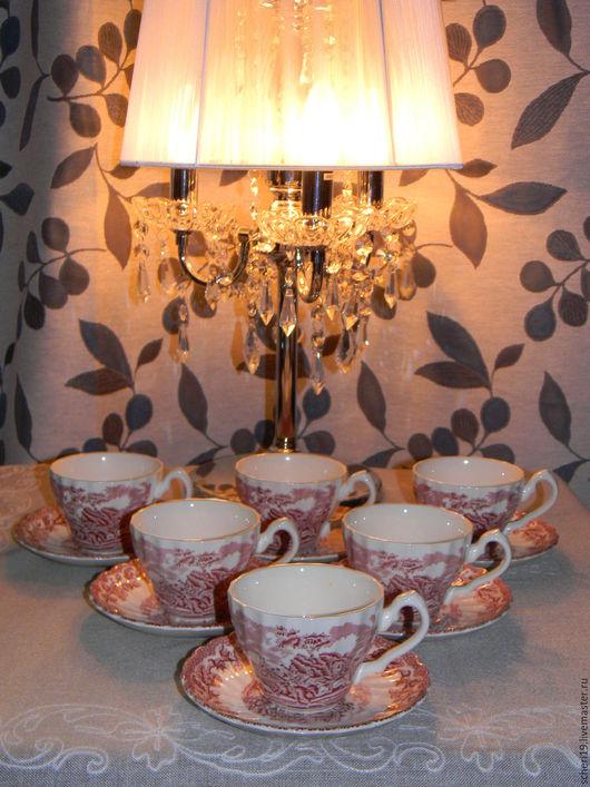 Винтажная посуда. Ярмарка Мастеров - ручная работа. Купить Чайные пары Англия 60е года. Handmade. Комбинированный, фарфор