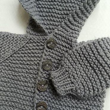 Одежда ручной работы. Ярмарка Мастеров - ручная работа Комбинезоны: детский полушерстяной комбинезон. Handmade.