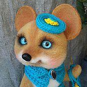 Куклы и игрушки ручной работы. Ярмарка Мастеров - ручная работа Мышка Сюзанна. Handmade.