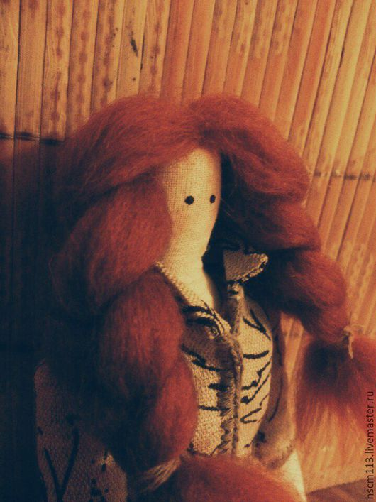 Куклы Тильды ручной работы. Ярмарка Мастеров - ручная работа. Купить Тильда. Handmade. Тильда кукла, Рыжая, лён