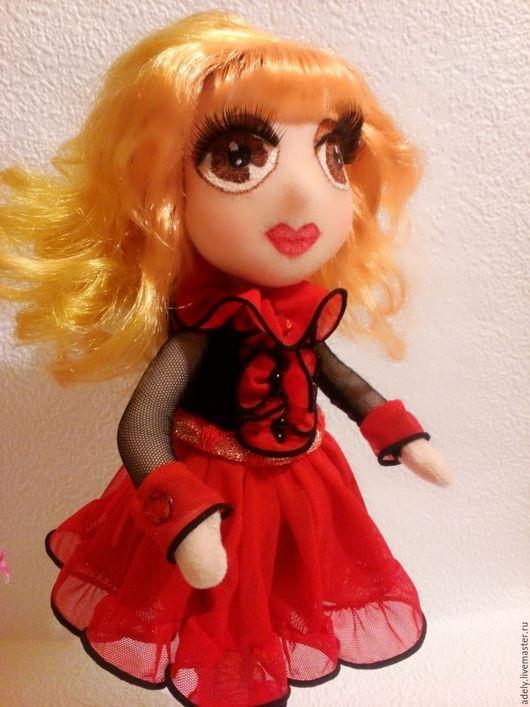 Коллекционные куклы ручной работы. Ярмарка Мастеров - ручная работа. Купить Анечка интерьерная кукла. Handmade. Кукла ручной работы